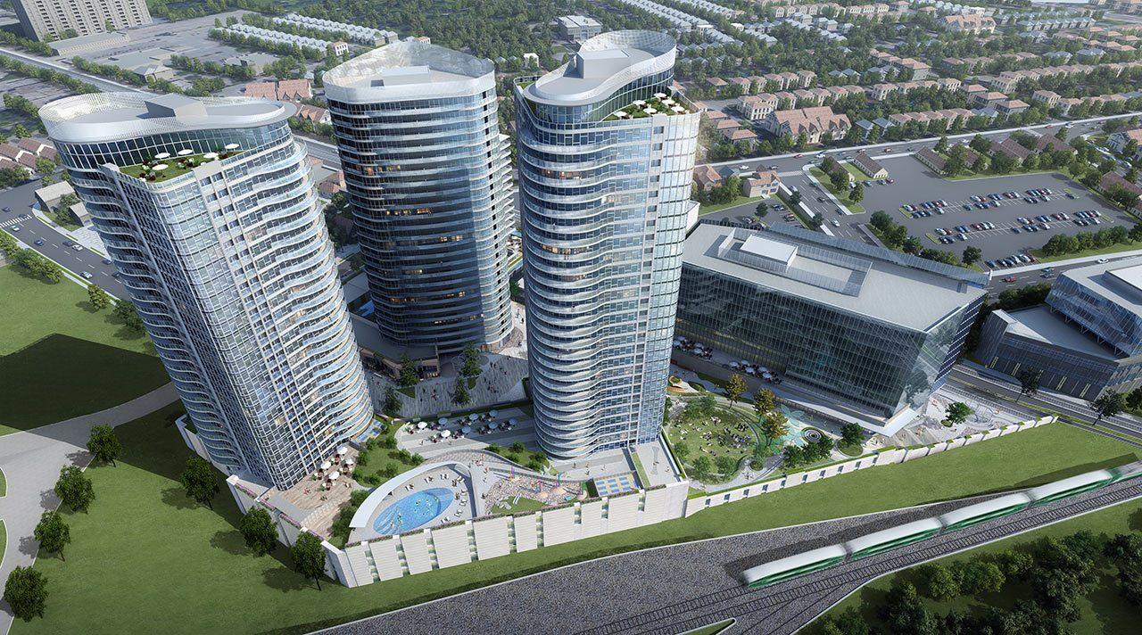 Condoville Club Toronto. Luxury Preconstruction Condos, Real Estate Ontario, Rental Guarantee, New Condos, Sixo Kitchener Waterloo building