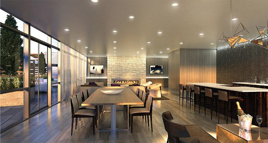 Condoville Club Toronto. Luxury Preconstruction Condos, Real Estate Ontario, New Condos, ayc condos-interior-dining
