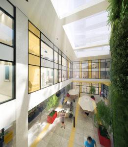 Condoville Club Toronto. Luxury Preconstruction Condos, Real Estate Ontario, New Condos, Sage prestige condos atrium
