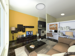 Condoville Club Toronto. Luxury Preconstruction Condos, Real Estate Ontario, New Condos, Sage prestige condos kingston livingroom