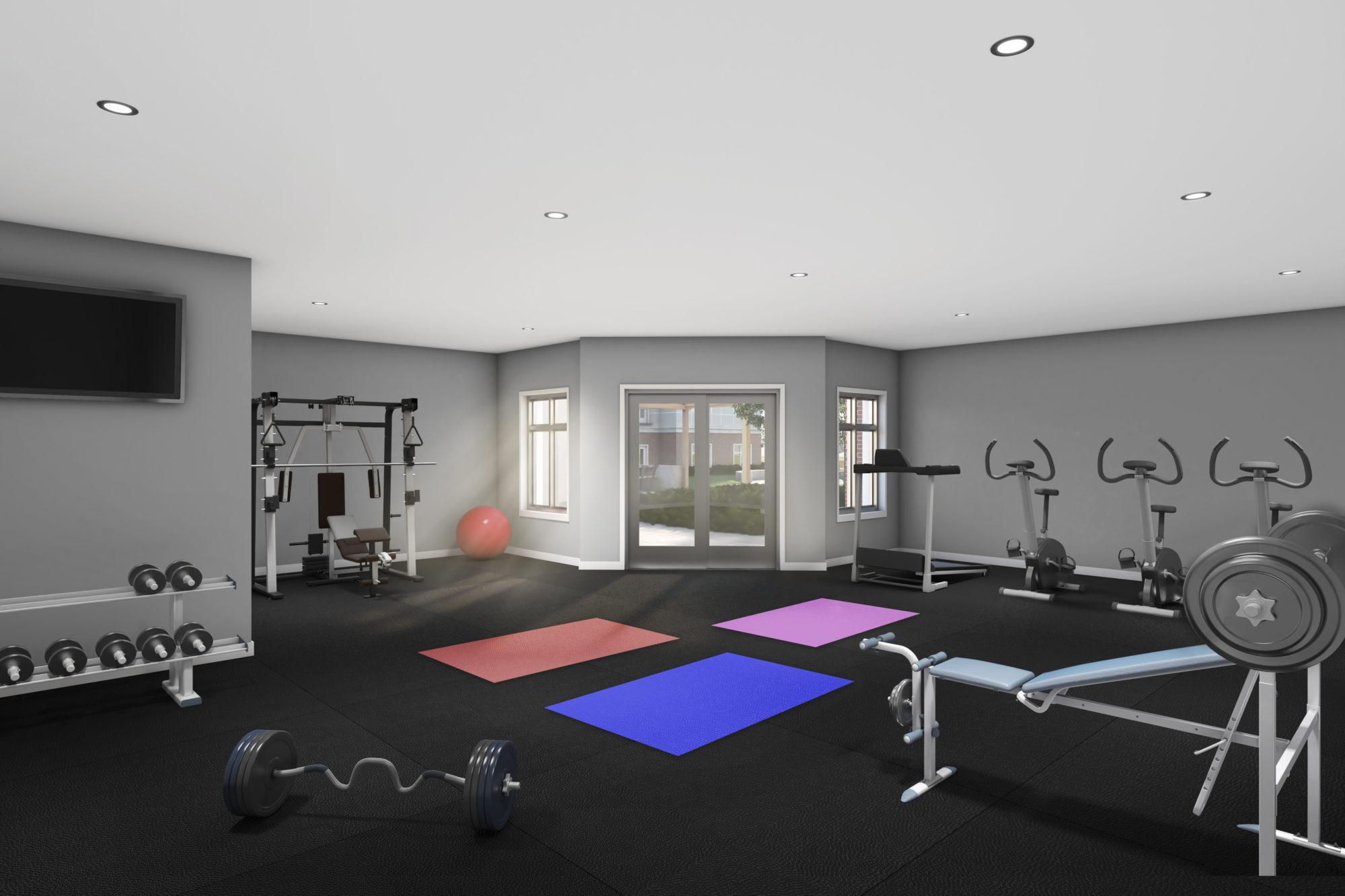 The-Frontenac-Condos-Rendering-Gym